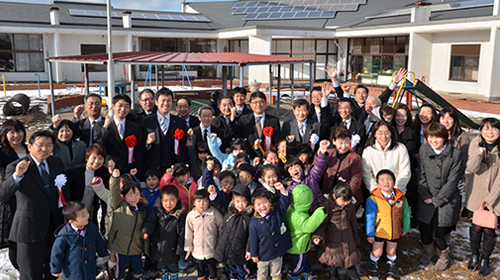 太陽光発電による東日本大震災の救護
